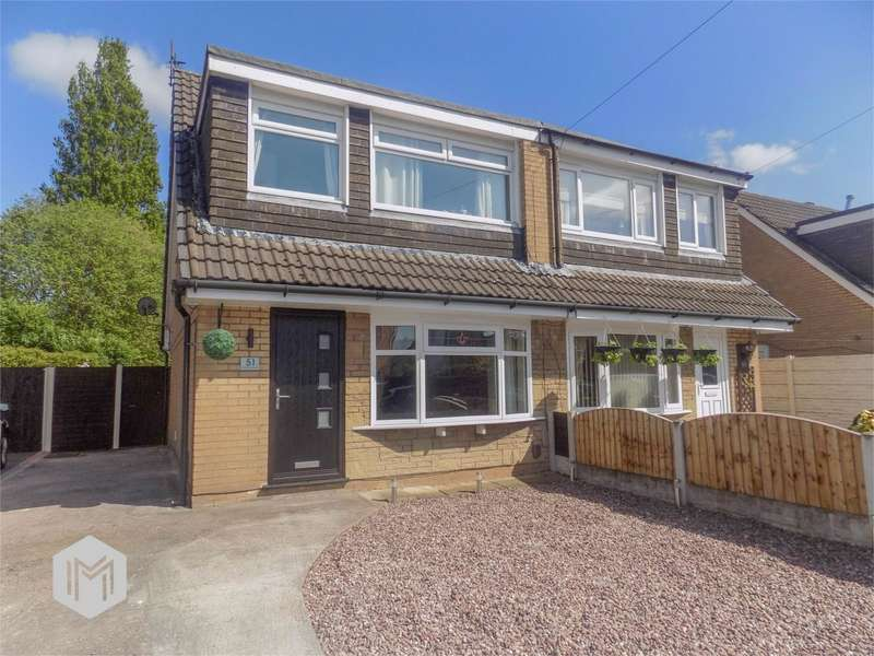 3 Bedrooms Semi Detached House for sale in Redwood Avenue, Leyland, Lancashire