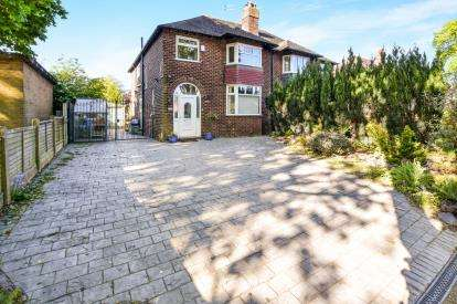 4 Bedrooms Semi Detached House for sale in Raglan Road, Sale, Trafford, Greater Manchester