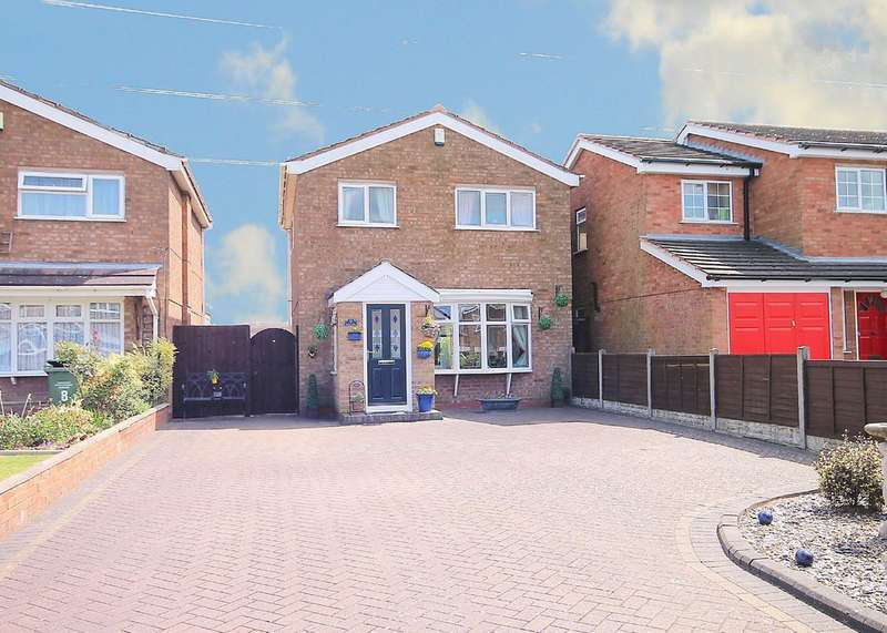 3 Bedrooms Detached House for sale in Godolphin, Riverside, Tamworth, B79 7UF