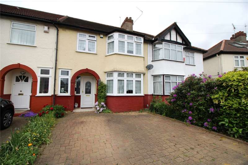 3 Bedrooms Terraced House for sale in Munster Gardens, Palmers Green, N13