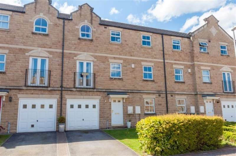 4 Bedrooms Terraced House for sale in Narrowboat Wharf, Rodley, LS13