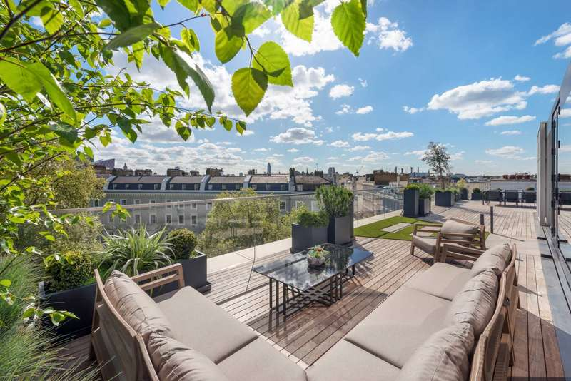 4 Bedrooms Penthouse Flat for sale in Chesham Place London SW1