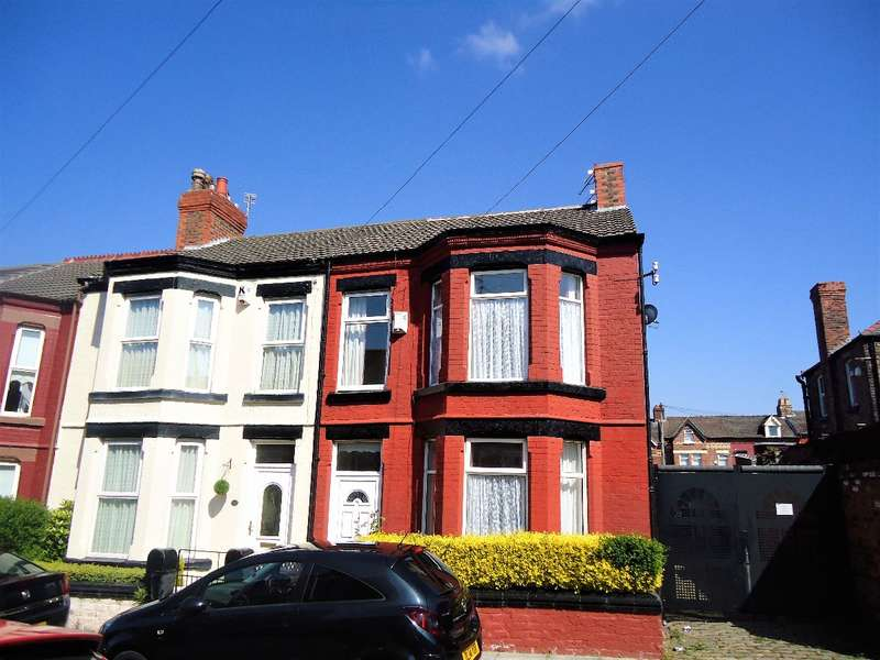 4 Bedrooms Terraced House for sale in Merton Place, Birkenhead, Wirral