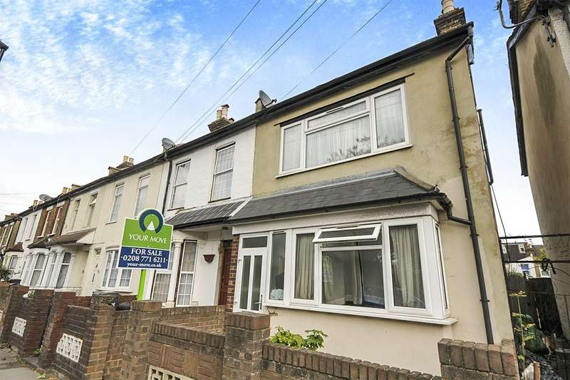 3 Bedrooms Semi Detached House for sale in Woodcroft Road, Thornton Heath, CR7