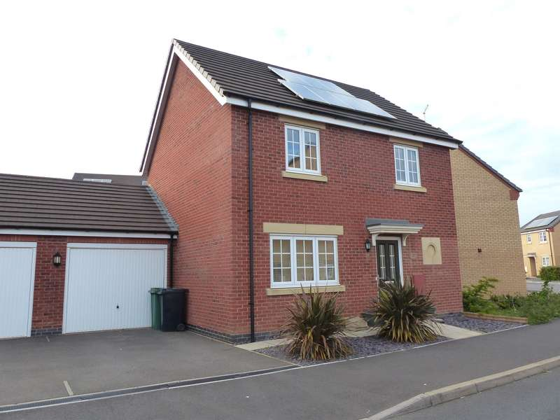 3 Bedrooms Detached House for sale in Jupiter Avenue, Peterborough, PE2