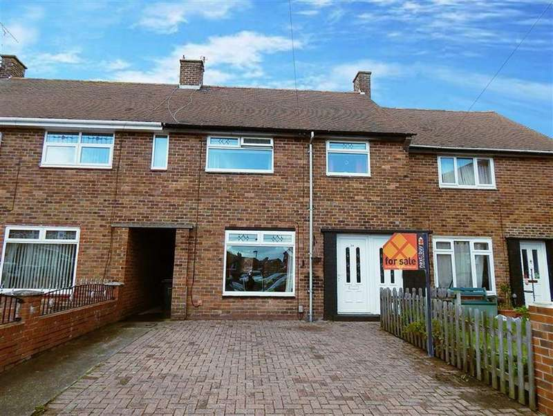 3 Bedrooms Terraced House for sale in Acton Drive, North Shields, Tyne And Wear, NE29