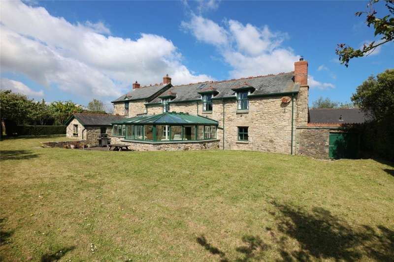 6 Bedrooms Equestrian Facility Character Property for sale in Clowance, Praze, Camborne