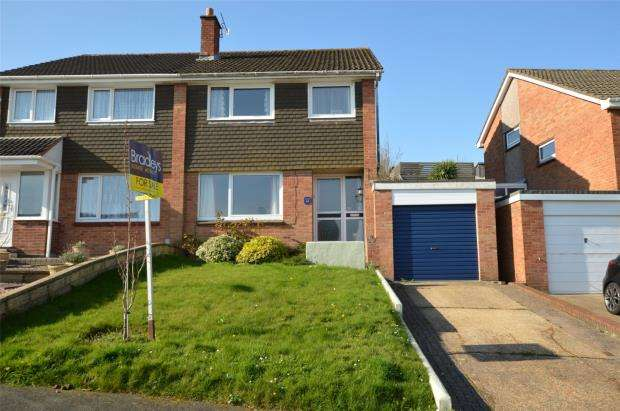 3 Bedrooms Semi Detached House for sale in Lalebrick Road, Plymouth, Devon