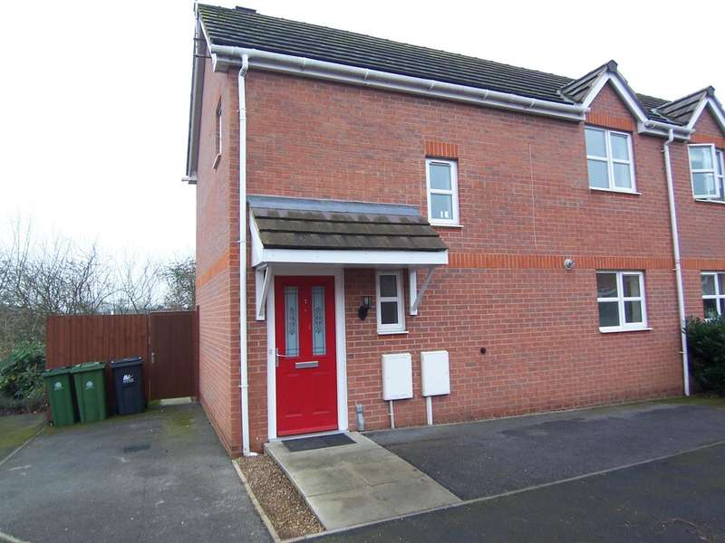 3 Bedrooms Semi Detached House for sale in Crabapple Drive, Langley Mill