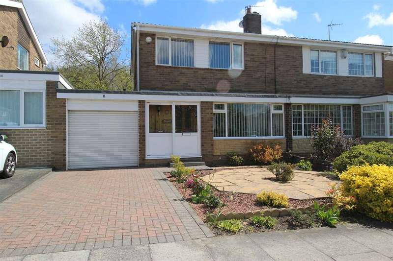 3 Bedrooms Semi Detached House for sale in Weetwood Road, Collingwood Chase, Cramlington