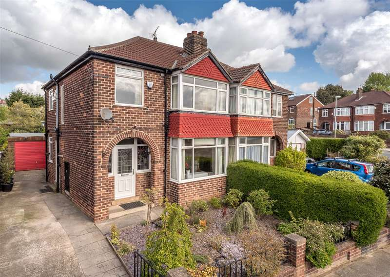 3 Bedrooms Semi Detached House for sale in Spennithorne Drive, West Park, Leeds, LS16