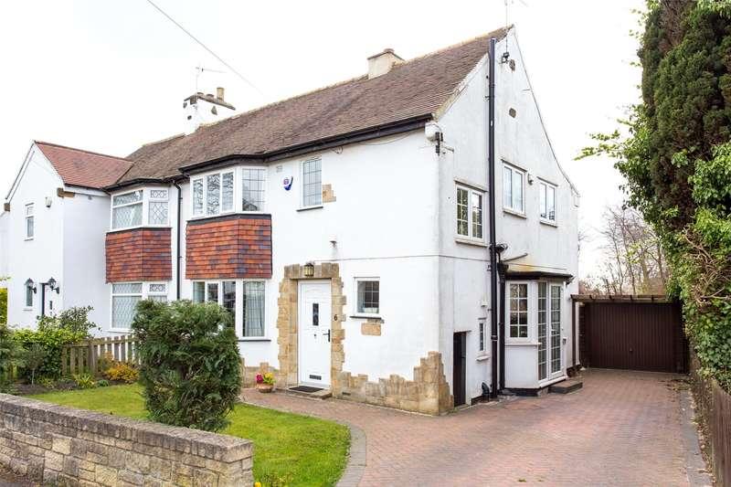 3 Bedrooms Semi Detached House for sale in Moorland Crescent, Leeds, West Yorkshire, LS17
