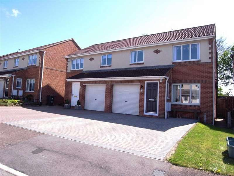 3 Bedrooms Semi Detached House for sale in Duxford Grove, High Grange, Darlington