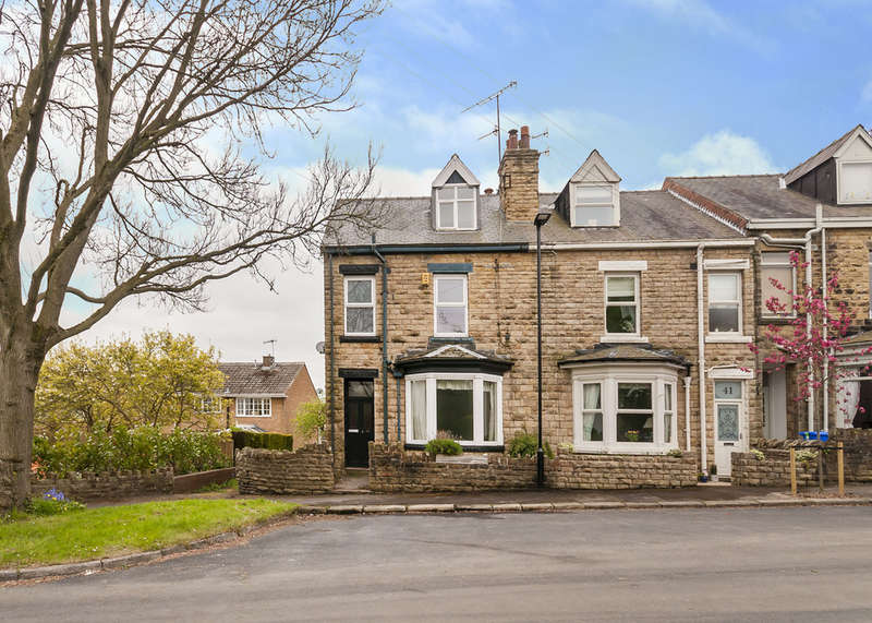 4 Bedrooms End Of Terrace House for sale in 39 Ashfurlong Road, Dore, S17 3NL