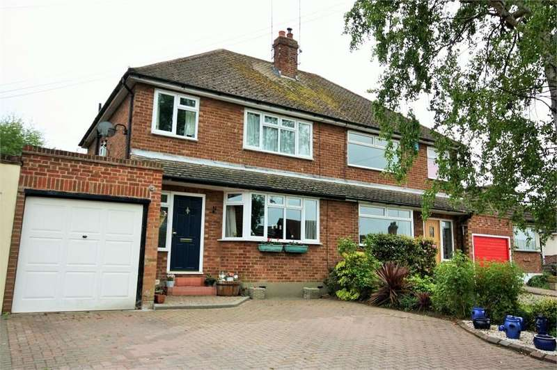 3 Bedrooms Semi Detached House for sale in Ingrave, BRENTWOOD, Essex