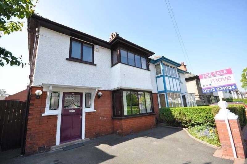 3 Bedrooms Semi Detached House for sale in Manor Avenue, Fulwood, Preston, Lancashire, PR2 8DN