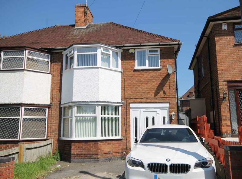 3 Bedrooms Semi Detached House for sale in Wicklow Drive, Leicester