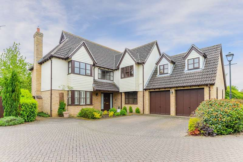 5 Bedrooms Detached House for sale in Pryors Orchard, Melbourn, SG8