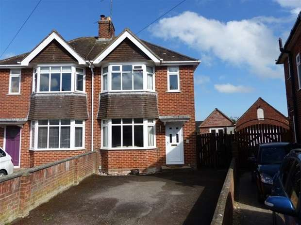 3 Bedrooms Semi Detached House for sale in Luxfield Road, Warminster