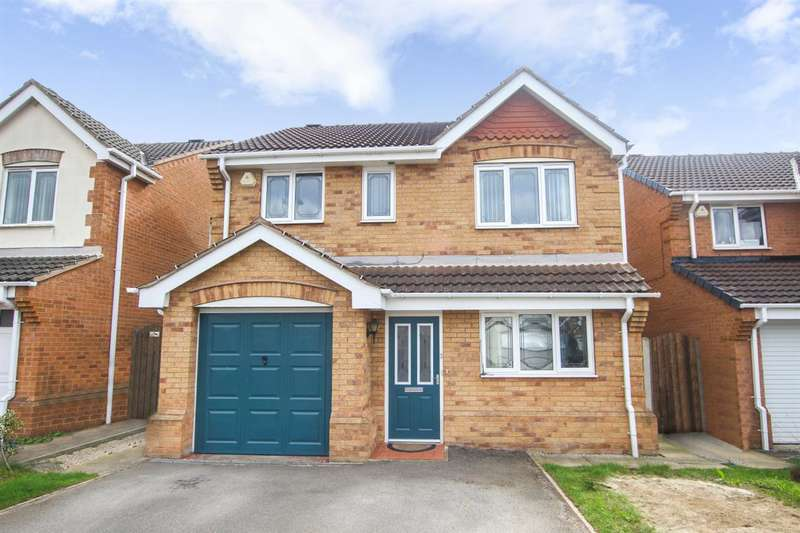 4 Bedrooms Detached House for sale in Willow Walk, Kinsley, Pontefract