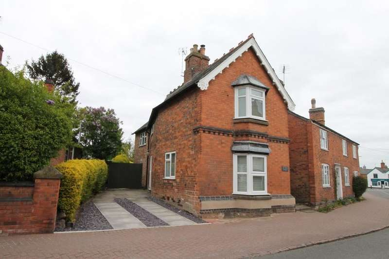 3 Bedrooms Detached House for sale in High Street, Kibworth