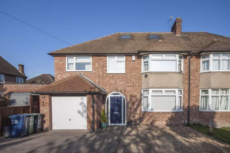 5 Bedrooms Semi Detached House for sale in Chalk Grove, Cambridge