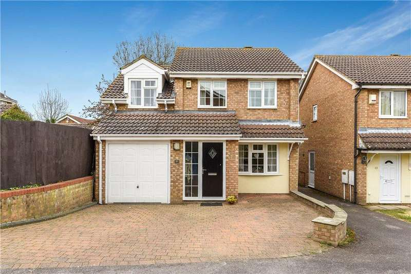4 Bedrooms Detached House for sale in Oxleys, Olney, Buckinghamshire