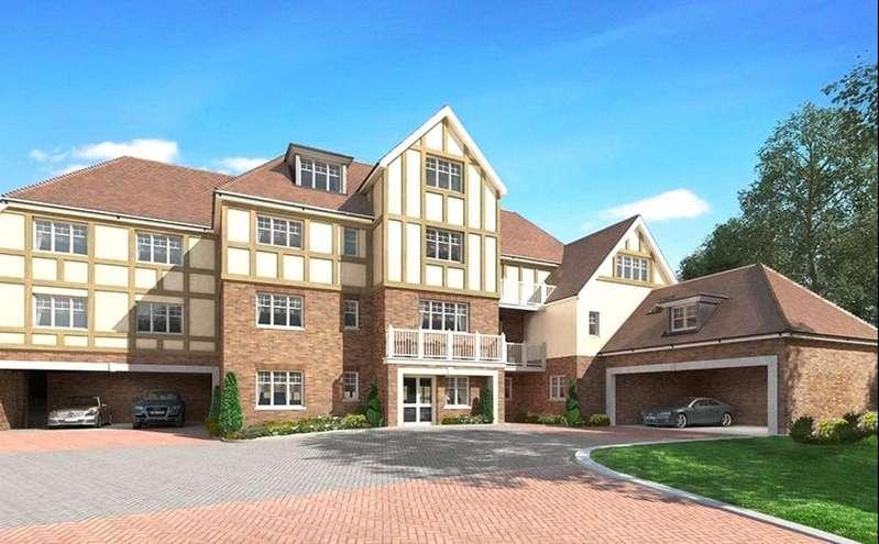 2 Bedrooms Penthouse Flat for sale in London Road, Sunningdale, Berkshire