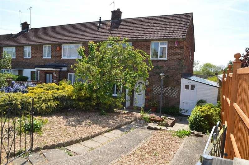 3 Bedrooms End Of Terrace House for sale in Tern Close, Tilehurst, Reading, Berkshire, RG30