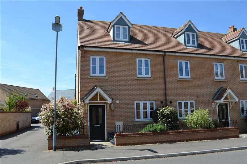 3 Bedrooms End Of Terrace House for sale in Dartmoor Way, Biggleswade, SG18