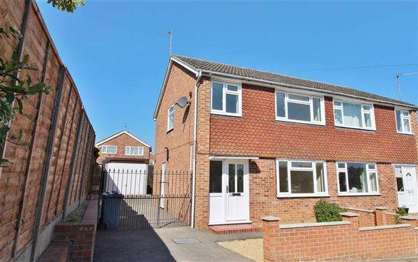 4 Bedrooms Semi Detached House for sale in St Helens Close, Grantham