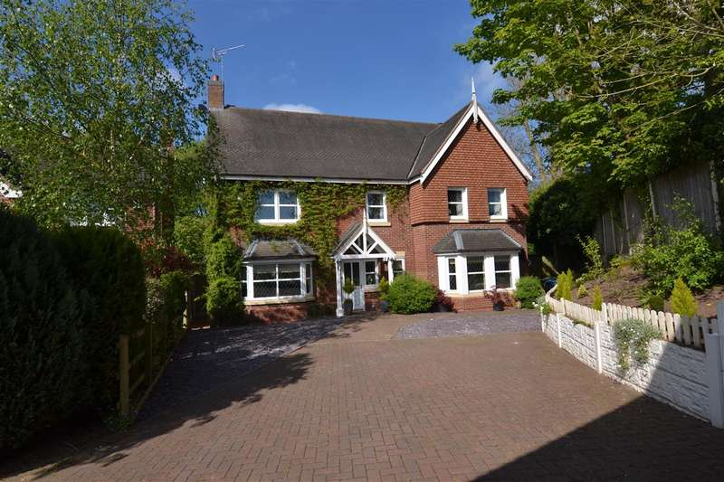 4 Bedrooms Detached House for sale in Stacey Gardens, Stafford