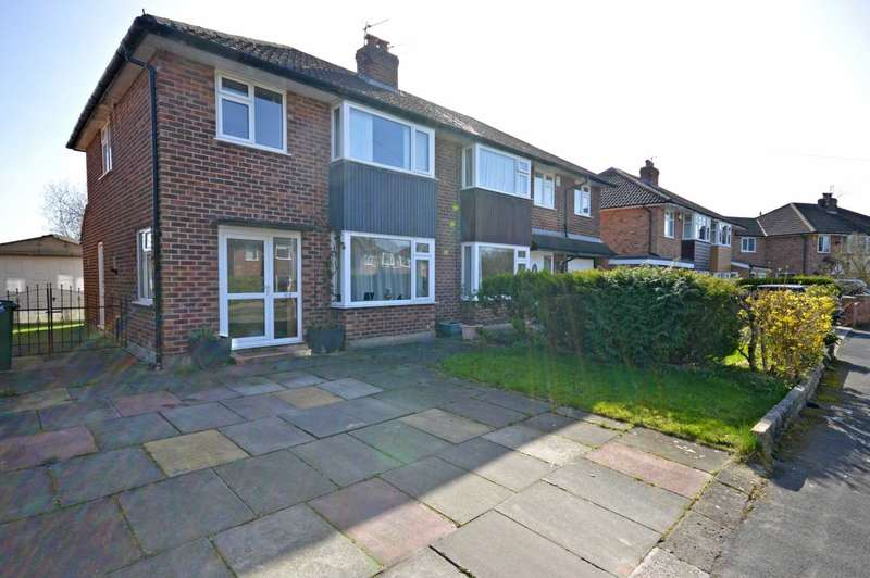 3 Bedrooms Semi Detached House for sale in ALBANY ROAD, Bramhall