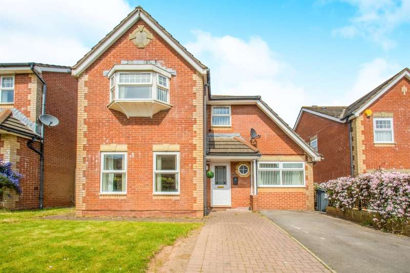 4 Bedrooms Detached House for sale in Clos Nant Glaswg, Pontprennau, Cardiff