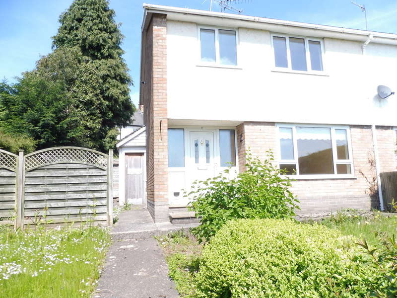 3 Bedrooms Semi Detached House for sale in Brynhyfryd Close, Little Mill, Pontypool