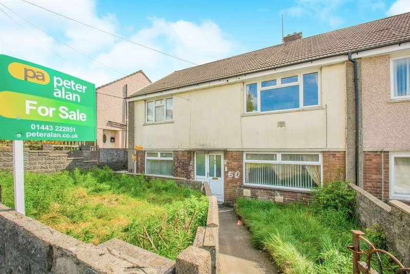 2 Bedrooms Ground Flat for sale in St Johns Road, Tonyrefail, Porth