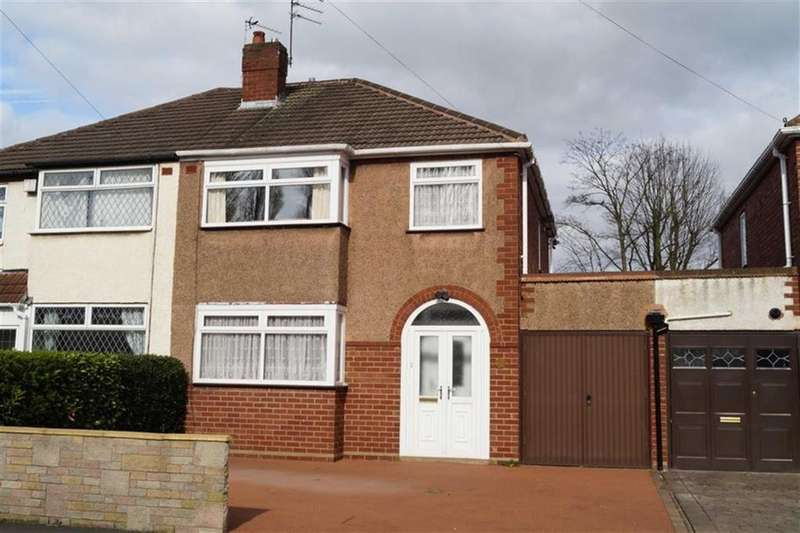 3 Bedrooms Semi Detached House for sale in Fairview Close, Wednesfield, Wolverhampton