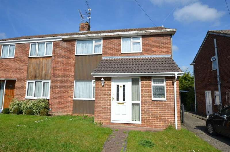 3 Bedrooms Semi Detached House for sale in Newbery Close, Tilehurst, Reading