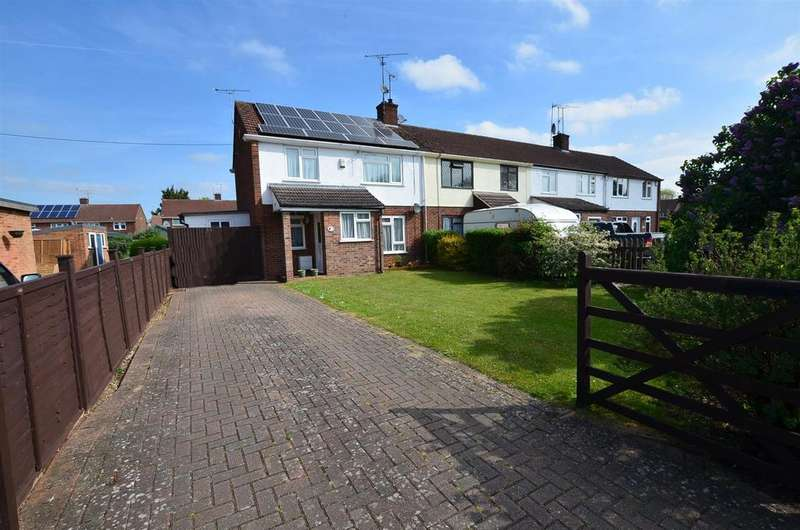 3 Bedrooms End Of Terrace House for sale in The Meadway, Tilehurst, Reading