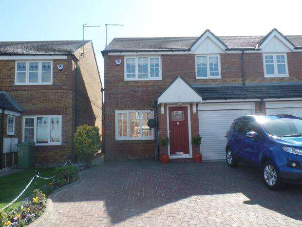 3 Bedrooms Semi Detached House for sale in FENNEL GROVE, EASINGTON VILLAGE, PETERLEE AREA VILLAGES
