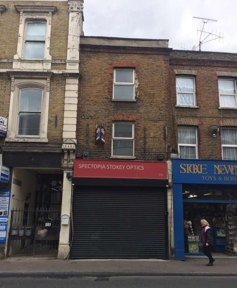 Flat for sale in Stoke Newington High Street, Stoke Newington, London, N16 0NY