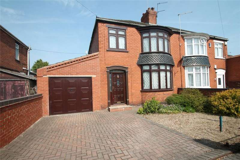 3 Bedrooms Semi Detached House for sale in Rowland Road, Scunthorpe, DN16
