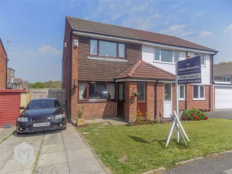 2 Bedrooms Semi Detached House for sale in Earlsway, Euxton, Chorley, Lancashire