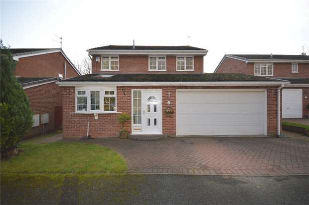 4 Bedrooms Detached House for sale in Tanar Close, Spital, Merseyside