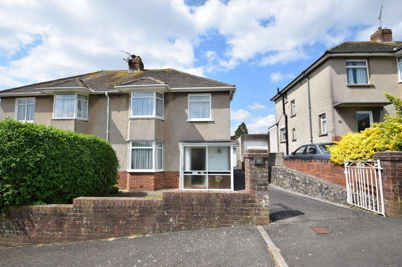 3 Bedrooms Semi Detached House for sale in 12 Parcau Road, Bridgend, Bridgend County Borough, Cf31 4TA.