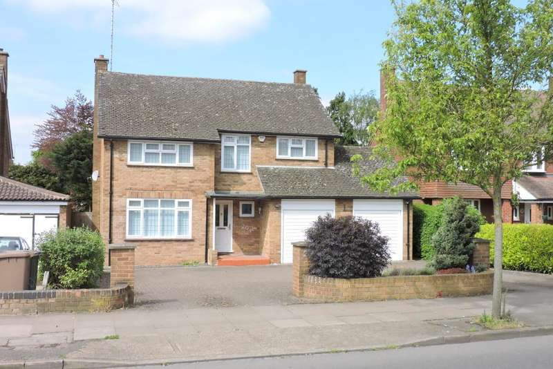 4 Bedrooms Detached House for sale in Old Bedford Road, Luton, Bedfordshire, LU2 7BW