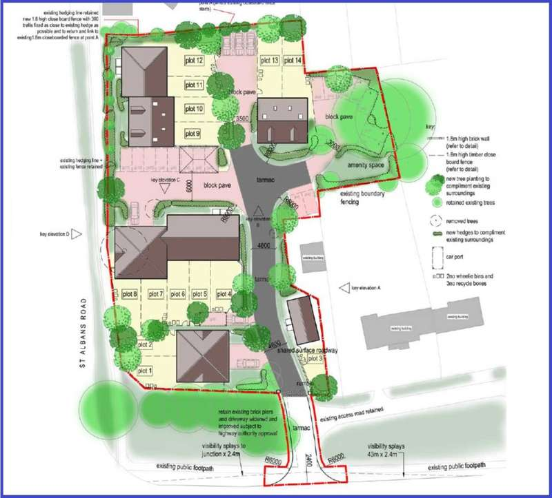 Plot Commercial for sale in DEVELOPMENT SITE FOR 14 MIXED SIZE UNITS - ADEYFIELD FREE CHURCH, Leverstock Green Road, HP2 4HJ