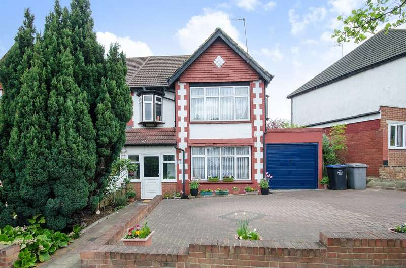 3 Bedrooms Semi Detached House for sale in Wembley Hill Road, Wembley Park, HA9