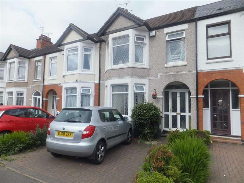 3 Bedrooms Terraced House for sale in Dickens Road, Kerelsey, Coventry, West Midlands, CV6
