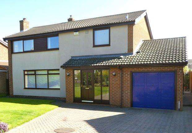 4 Bedrooms Detached House for sale in CRAGSIDE, SEDGEFIELD, SEDGEFIELD DISTRICT